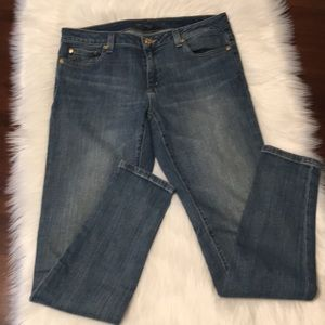 Michael Kors Izzy Skinny Medium Wash Jeans Size 6